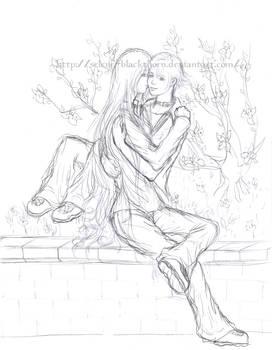 Muzica-chan - commish1- sketch