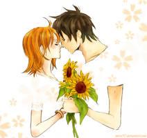 OP: sunnflowers by meru90