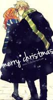 HP: merry christmas by meru90