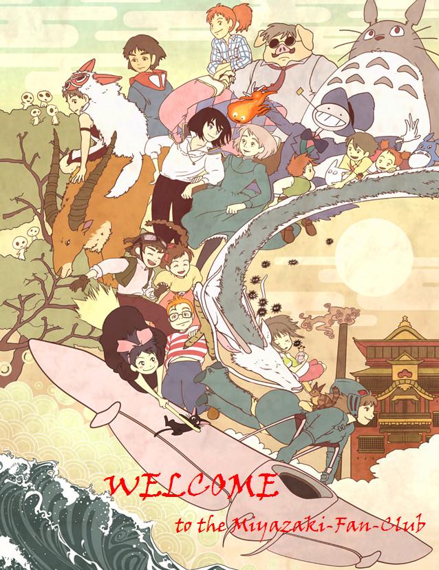 Welcome Miyazaki Fans by Miyazaki-Movie-Fans