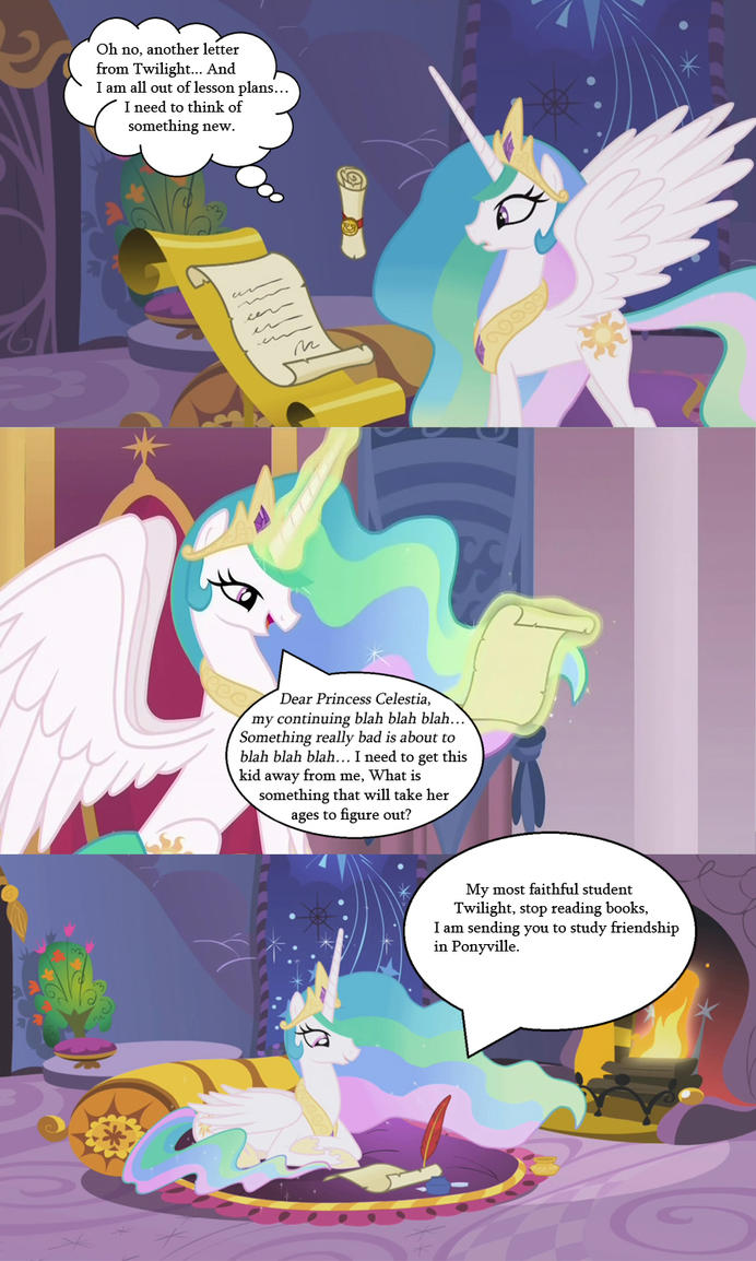 What Really Happened the at the start [edit] by MLP-Sage