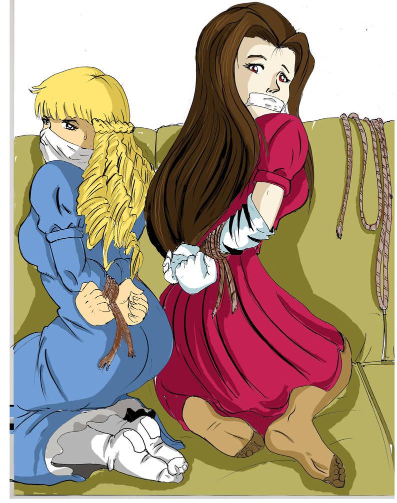 The royalty Tied, Elvina y Zoe
