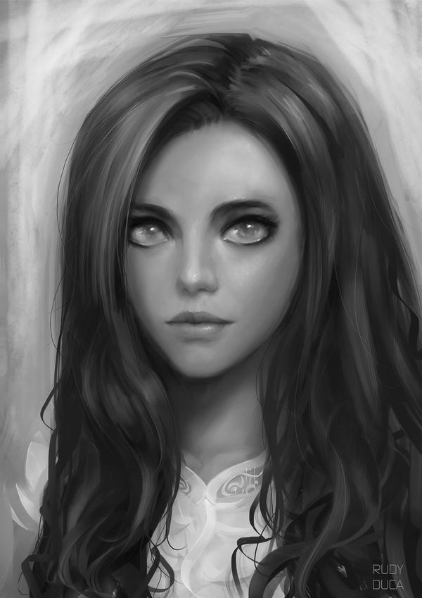 Daily Practice - Portrait #9 by Nixri