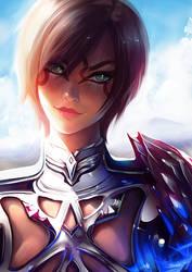 FFXIV Character commission by Nixri