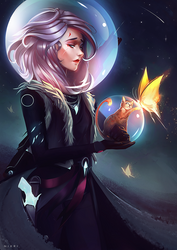 Space Cowgirl by Nixri