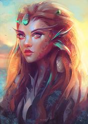 Mermaid by Nixri