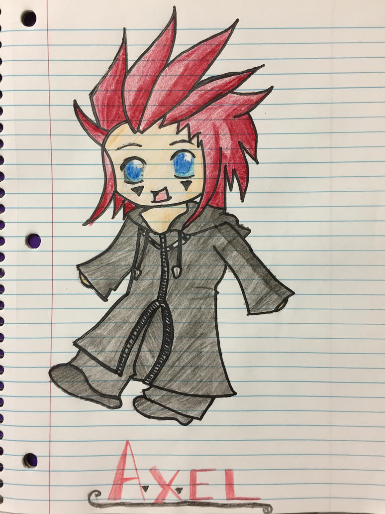 Chibi Axel -colored- by NicolexAshley
