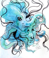 Underwater - Inktober 4 by Will-Lima