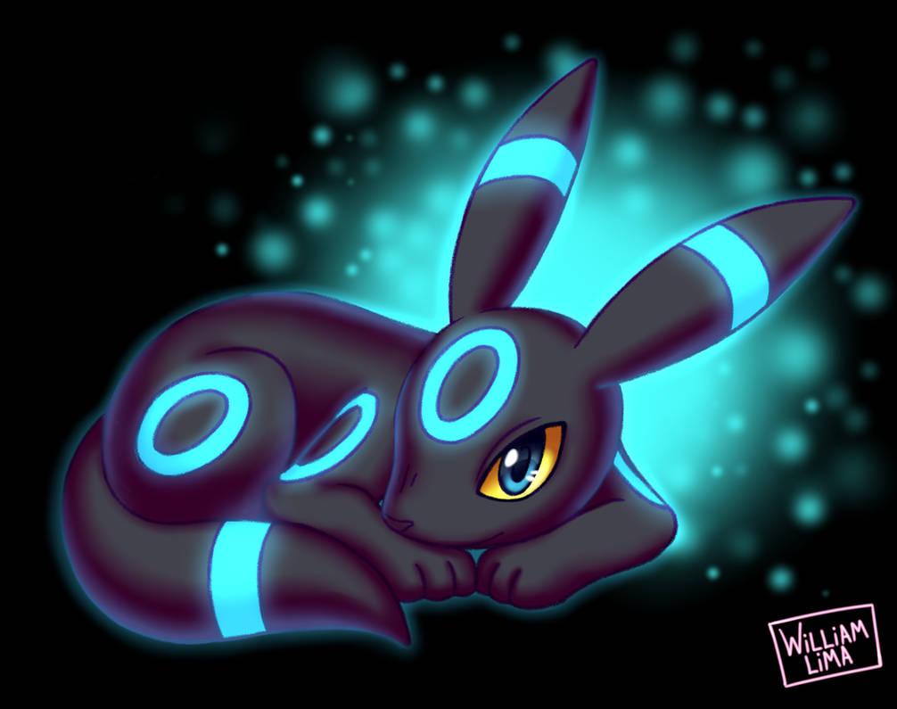 Shiny Umbreon - Pokemon Fanart by Will-Lima on DeviantArt