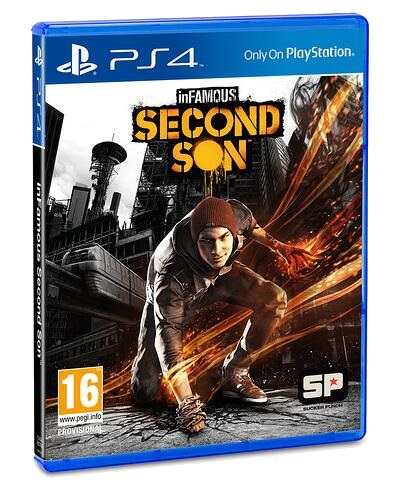 inFAMOUS: Second Son Cover by phantomblade88