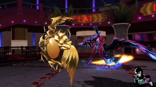 P5 Screenshot 2 - Arsene Gameplay by phantomblade88