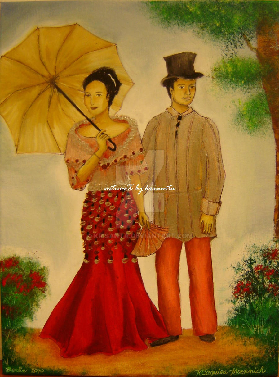 Filipino traditional costumes by - 264.8KB