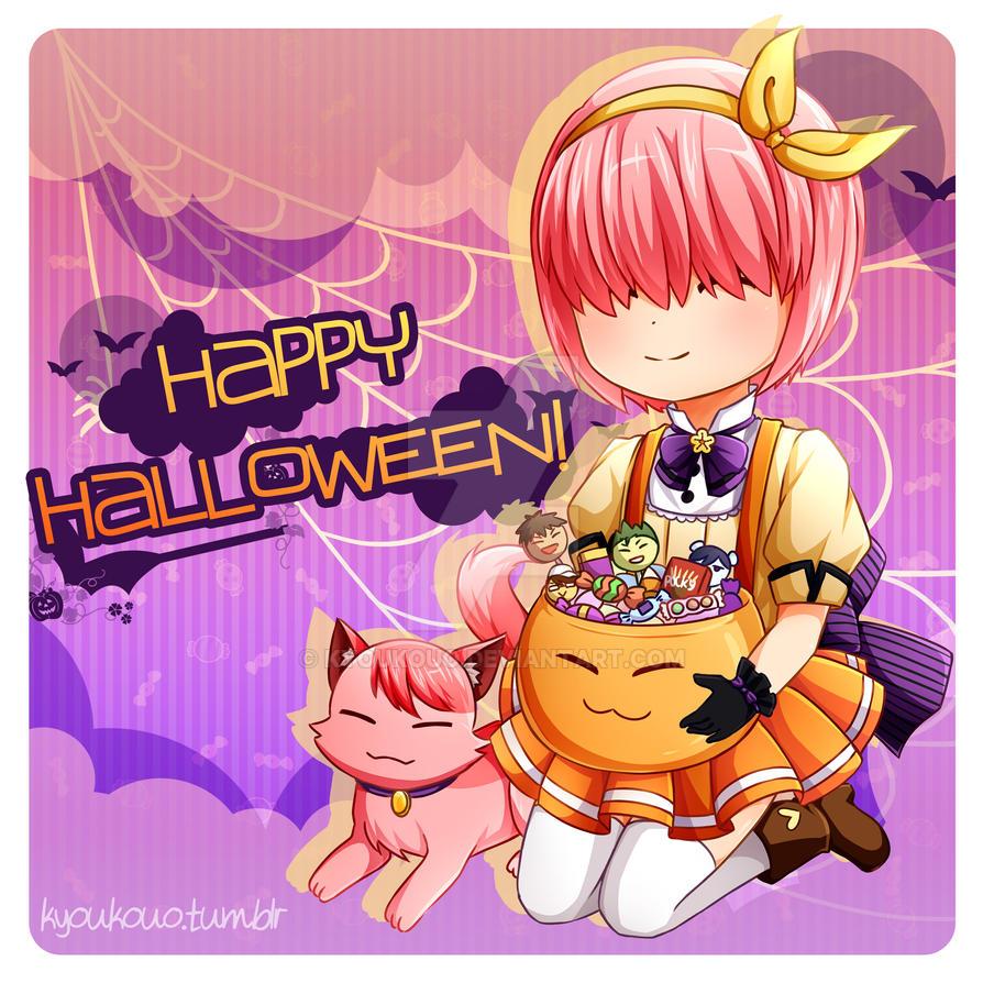 Happy Halloween 2k15! by Kyoukouo