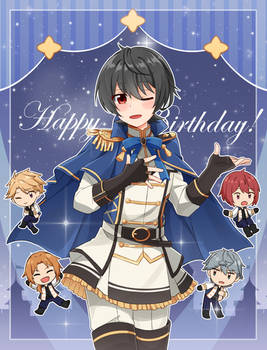 Happy Birthday Sakuma Ritsu!