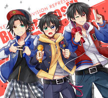 Homies, we are BUSTER BROS!!!