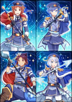 Magical AU: Royal Elite Stars