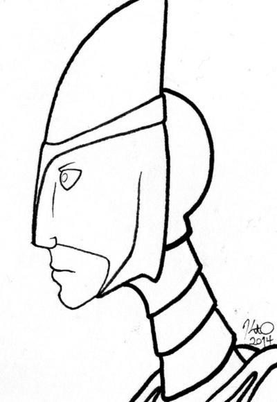 Sketch Card- For Zimeta by KtObermanns