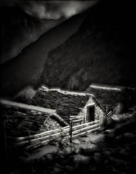 Val Redorta, Ticino, Switzerland