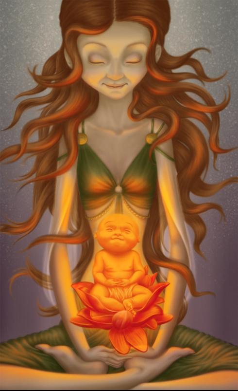 My little Buddha by Nekranea
