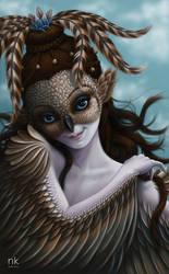 Shinskra, wind spirit by Nekranea