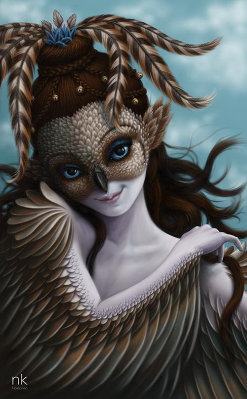The Art Of Jezabel Nekranea Shinskra Wind Spirit - Wind spirit