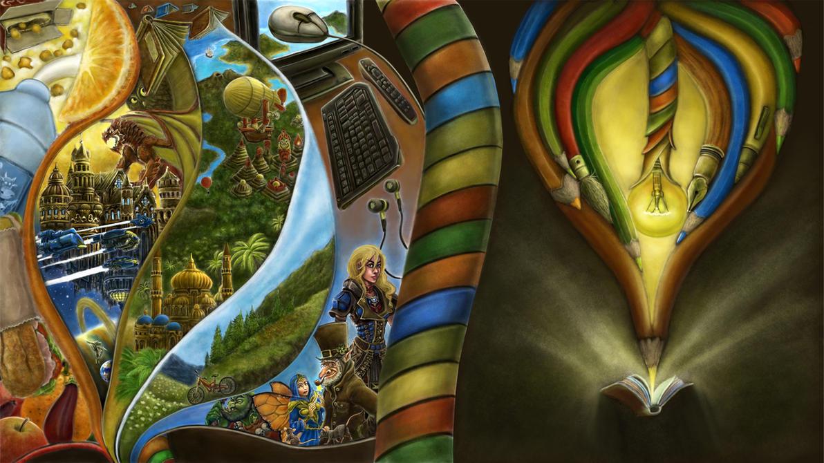 Creative journey by YanQuelais