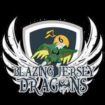 Blazing Jersey Dragons Pokemon Champions Logo!