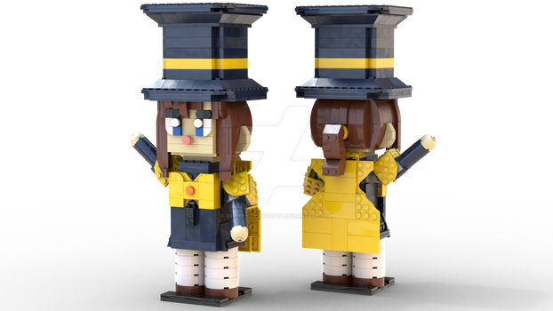 Hat Kid - A Hat in Time LEGO MOC