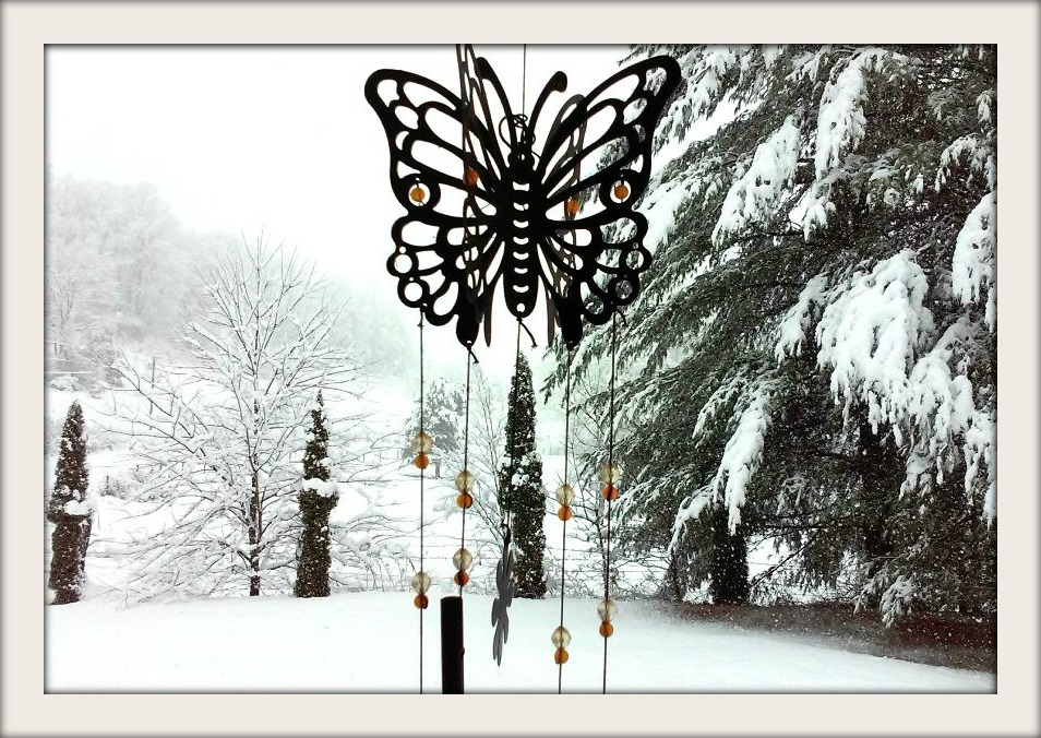 Butterfly In Winter by TheEmptyChest