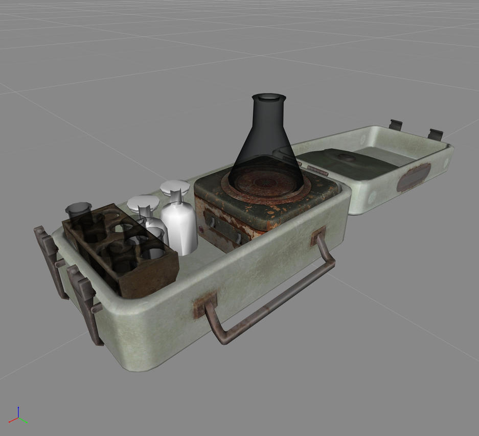 Fallout 4: the micro chem station by WarMocK