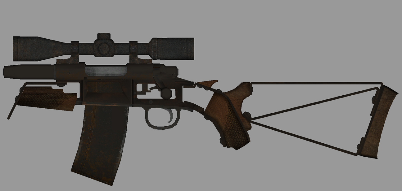 Fallout 4: the Obrez Rifle by WarMocK