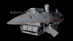 Star Wars - The 'Flying Furnace'