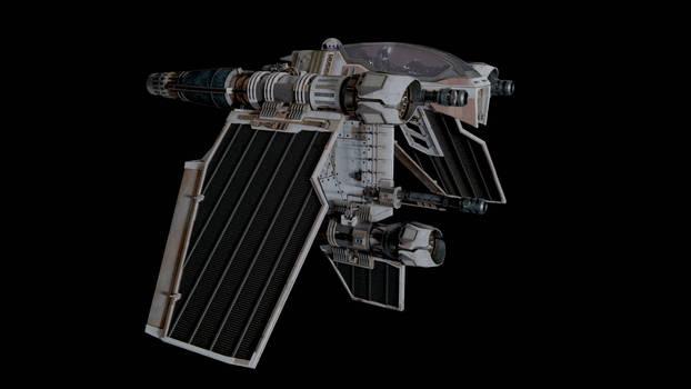 Star Wars - V-36 Sabre - Improved (Side)