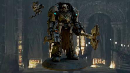 Warhammer 40k - Wolf Priest Jarn Winterfeld