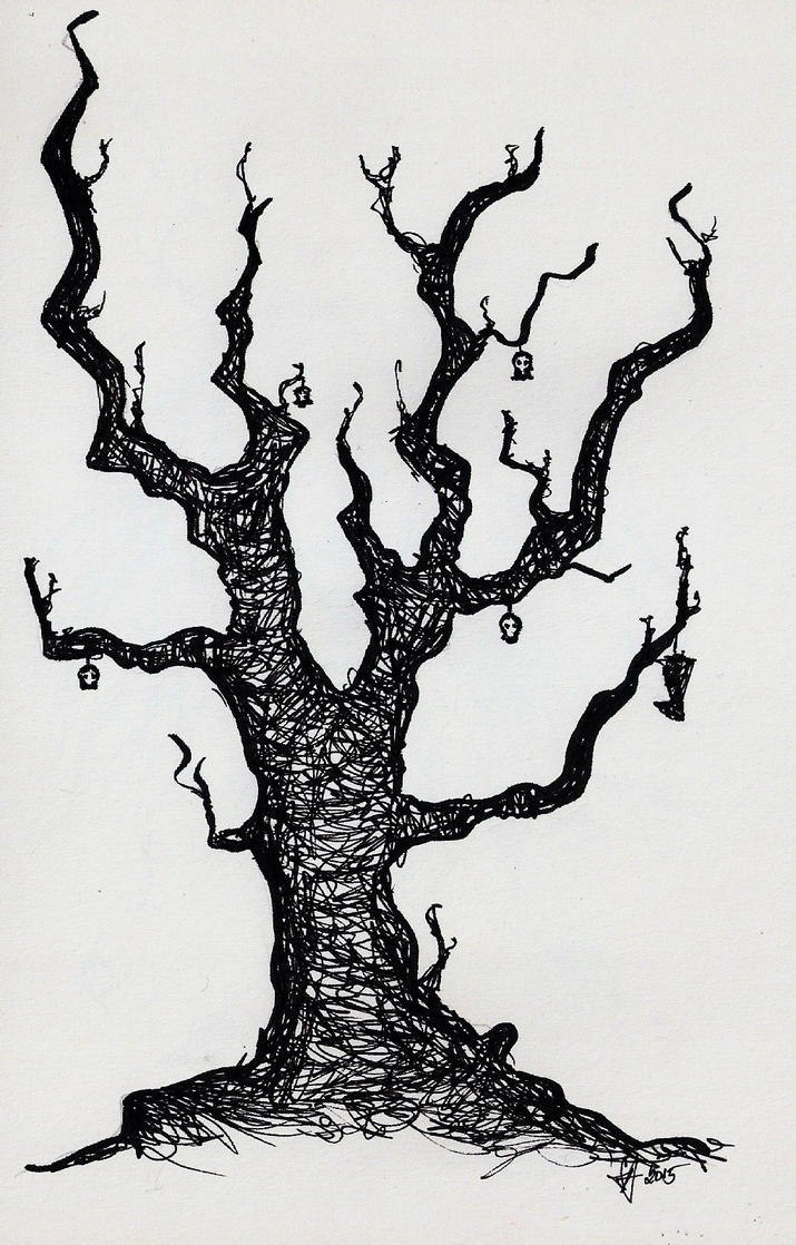Tree of dead hopes by SCHIZOPHRENIC-ALICE