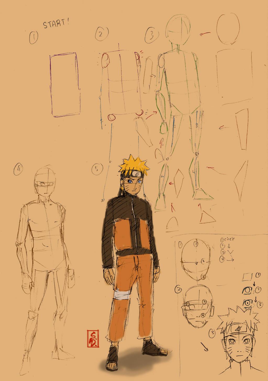megapost  aprende a dibujar anime y manga