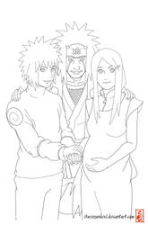 Generation of the past lineart
