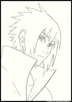 Sasuke's MS lineart