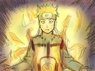 Super Naruto oekaki colour