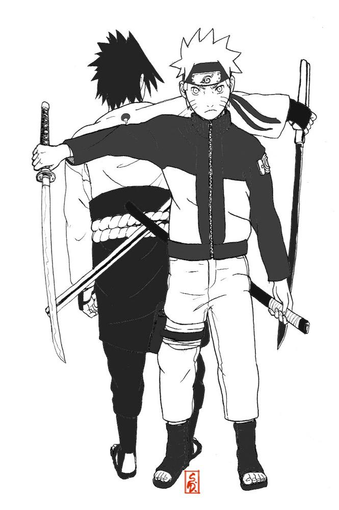 ��� ����� Naruto&Sasuke naruto_and_sasuke_by