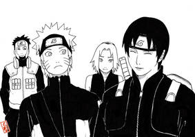 peaceful time for team7 by sharingandevil