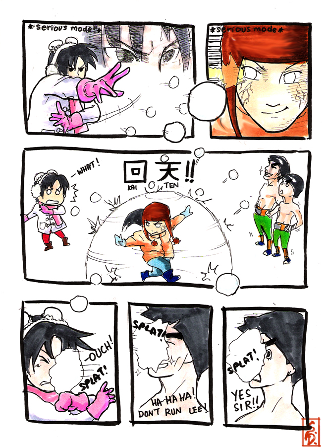 Team Gai's Winter Holiday p.2 by sharingandevil