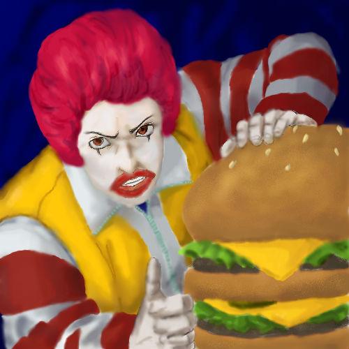 Ronald McDonald by sharingandevil