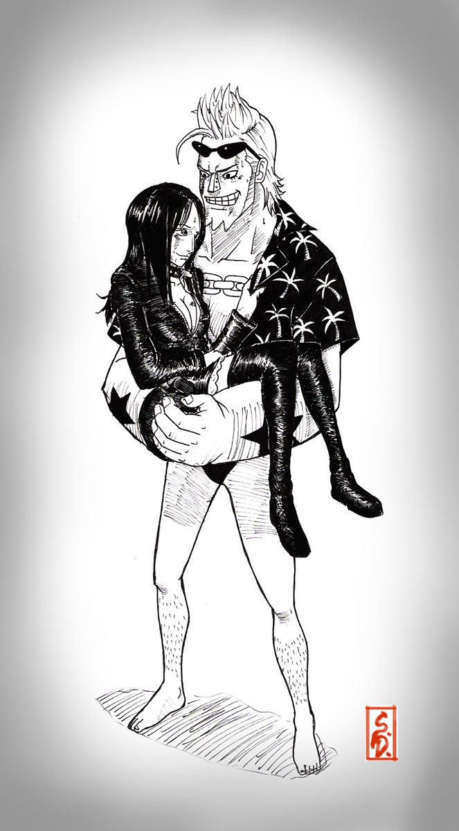 Franky love Robin by sharingandevil