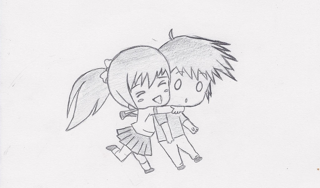 Chibi Hug :3 by Shaco88888888 on DeviantArt