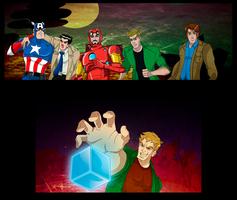 Supernatural Mightiest Heroes by nupao
