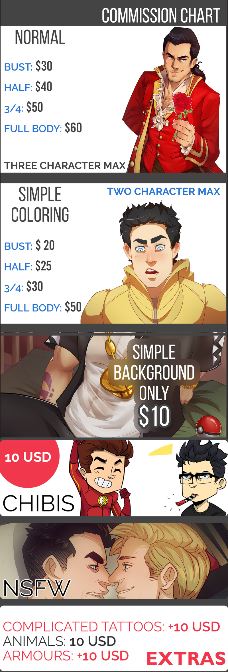 Commission Info: Open by nupao