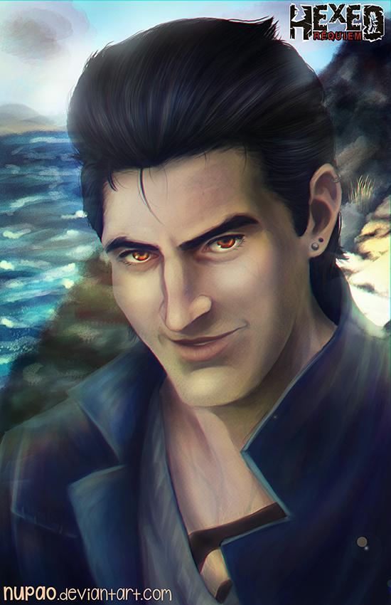 HexedRequiem: Jason Portrait by nupao