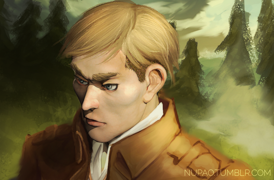 Erwin Smith by nupao