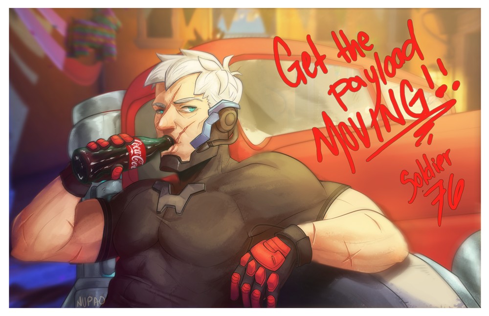 Soldier 76-Dorado by nupao